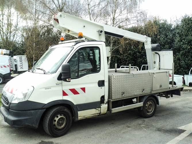 Vente de Nacelles sur Camions VL d'Occasion